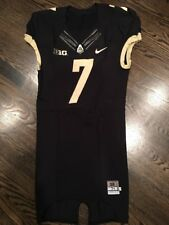 Game Worn Purdue Boilermakers Football Jersey Used Nike #7 Size 38