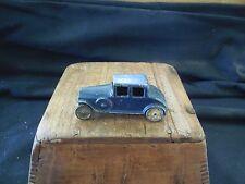 "Vintage Tootsietoy Car Coupe Blue Marked Tootsietoy 3"""