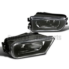 For 1997-2000 BMW E39 528i 540i Driving Fog Lights Z3 Bumper Lamps Black
