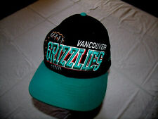 Vancouver Grizzlies New Era 9Fifty Hardwood Classics Hat Snapback Defunct NBA