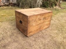 Rustic Pine Chest / Trunk / Box