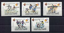 s5761) MALURITANIE 1982 MNH** World Cup Football - CM Calcio 5v IMPERF