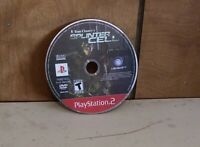 Tom Clancy's Splinter Cell Sony PlayStation 2 disc only Tested