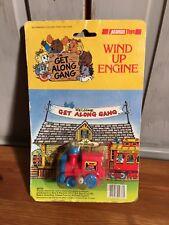 New Vintage 80's Get Along Gang Wind Up Engine Acamas Toys