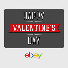 eBay Digital Gift Card - Happy Valentine's Day - Fast Email Delivery