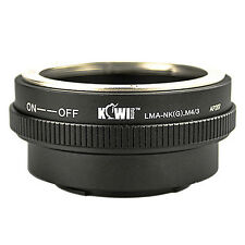 Adaptateur Bague Objectif Nikon G vers Boitier Photo Micro 4/3 Olympus Panasonic