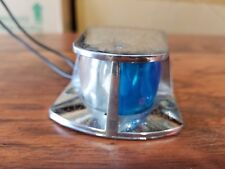 ATTWOOD BOAT NAVIGATION BOW LIGHT BLUE/WHITE CLEAR CHROME-PLATED OEM AC6375-02