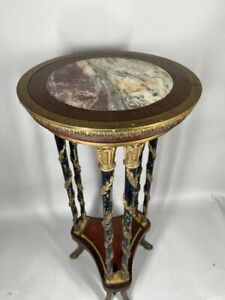 Antique beautiful french side table Made of bronze- worldwide free shipping