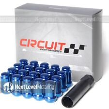 20 CIRCUIT 12X1.5 BLUE SPLINE LUG NUTS FITS LEXUS IS250 IS300 IS350 SC300 GS LS