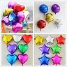 "5"" 10"" 18"" 24"" 32"" Heart Star Round Foil Helium Balloons Wedding Birthday Party"