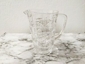 Shannon Crystal by Godinger Bamboo 64 oz Pitcher