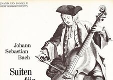 REINE FLACHOT - BACH CELLO SUITES 1, 2, 3 & 4 - LICENCED BY INTERCORD - NM
