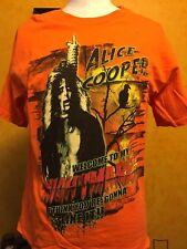 ALICE COOPER - 2004 Halloween Tour Shirt ( The Eyes Of Alice Cooper Tour ) LARGE