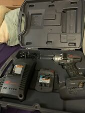 """Ingersoll Rand 3/8"""" Drive 20v Cordless Impact Wrench w Case Charger W5130 READ!!"""