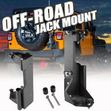 For Jeep Wrangler JK Hi-Lift Jack Mounts Offroad Trail Rear Door Bracket Carrier