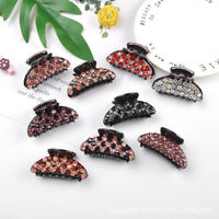 Women-Crystal Resin Hair Claw Clips Hairband Barrette Crab Clamp Hair Accessorie