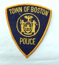 Old Style Town of Boston New York Police Department Patch