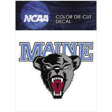 Maine Black Bears Logo NCAA Die Cut Vinyl Car Sticker Bumper Window