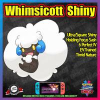 WHIMSICOTT Shiny | BATTLE READY | VGC '20 | 6IV | Pokemon Sword Shield