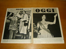 OGGI 1952/35=PALOMBARI=MARCO ENRICO BOSSI=GIOVANNI DESCALZO=SAVOIA=DE GASPERI=