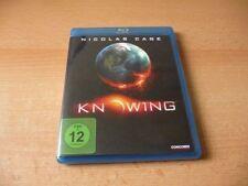 Blu Ray Knowing - 2009 - Nicolas Cage