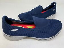 NEW! Skechers Women's GOWALK 4 PURSUIT Walking Shoes Navy #14148 160E tz