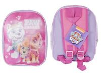 Paw Patrol Boy Girls My Little Pony Frozen Cars Backpacks Girls Boys School Bags