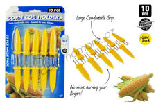10 Corn Cob Holders Skewers Barbecue Fork Fruit Holder BBQ Kitchen Accessories