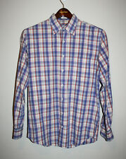 Mens PETER MILLAR Weekender Wash Long Sleeve Button Down Front Shirt Medium M