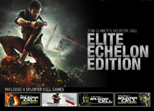 Tom Clancy's Splinter Cell + Chaos Theory + Double Agent + Conviction, PC Steam