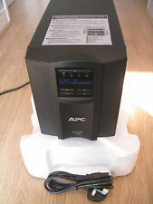 APC FUJITSU SMART-UPS SMT 1500i VA LCD TOWER UPS WITH NEW RBC7 BATTERY & CABLES