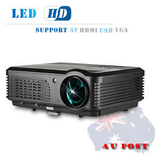 1080P LED Home Cinema Projector Multimedia Movie Game Party USB HDMI VGA 4200LMS