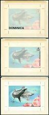 Dominica 1975 Marine Fish HANDPAINTED ESSAY/Shark