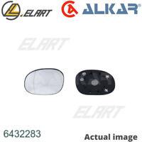 Mirror Glass,outside mirror for CITROEN,PEUGEOT XSARA PICASSO,N68 ALKAR 6432283