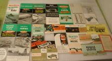 20 Farm Advertising Brochures  NEW IDEA farming / agriculture equipment vintage
