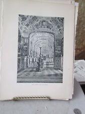 Vintage Print,VAT.LIBRARY,Rome,Rrancis Wey,1872