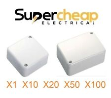 Small or Big Large Junction Box with connectors 32A 500V White Electrical Jbox