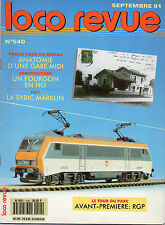 ** Loco Revue n°540 BB 26004 Märklin / 030 TB Model Loco / Autorails RGP