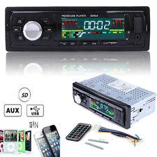 12V Voiture Stéréo Autoradio MP3 joueur Entrée AUX FM Radio Récepteur WMA SD USB