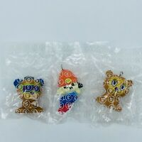 PARAPPA THE RAPPER PJ BERRI 3 MIni Figure Set Japan PlayStation Sony