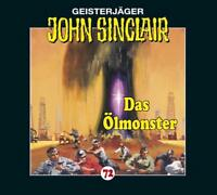 """Preisalarm! * HÖRSPIEL CD * JOHN SINCLAIR """"Das Ölmonster"""" 72 * NEU & OVP"""