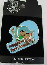 Disney WDW Happy Holidays Polynesian Resort Stitch Pin