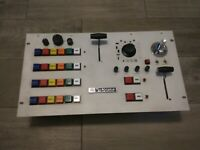 VINTAGE ANTIQUE BRODCAST TV TELEVISION STUDIO REMOTE CAMERA CONTROL PANEL VHTF