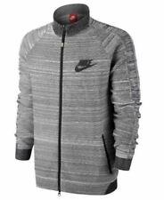 Nike FC N98 Tech Knit Jacket Medium 636239-010 Gray Football Soccer Flyknit CR7
