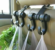 Universal Car Truck Suv Seat Back Hanger Organizer Hook Headrest Holder BLACK