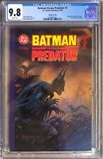 BATMAN VERSUS PREDATOR Prestige #1-3 Set CGC 9.8 Marvel Dark Horse Comics!