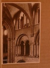 Unposted Postcard Durham Cathedral, In the Triforium