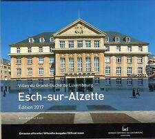 NEW !!! Euro LUSSEMBURGO 2017 in Folder Ufficiale 9 monete FDC NEW !!!