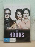 The Hours (DVD, 2012) DRAMA Meryl Streep, Julianne Moore, Nicole Kidman Region 4