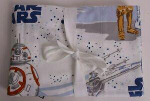 Pottery Barn Kids Star Wars Droids flannel pillowcase *photo studio sample*